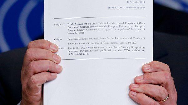 Brexit : que prévoit le projet d'accord entre le Royaume-Uni et l'UE?