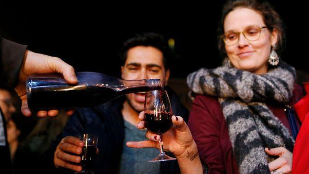 Праздник молодого вина начался