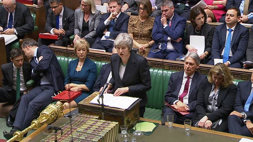 Watch: May comes under fire from MPs amid Brexit fallout