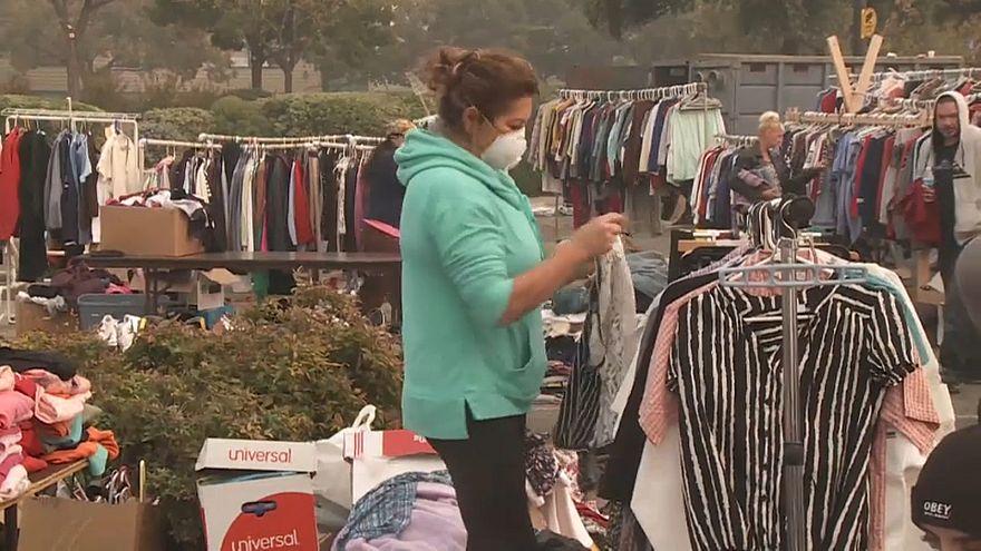 بی خانمان شدن ساکنان یک شهر در آتشسوزی مهیب کالیفرنیا