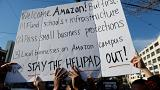 Des New-Yorkais manifestent contre l'implantation d'Amazon