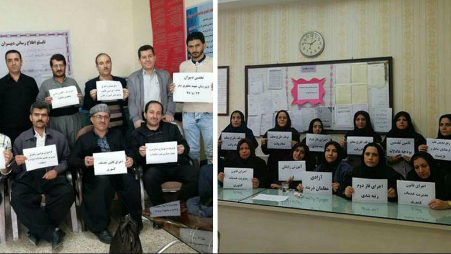 دستگیری، احضار و بازجویی دهها معلم شرکتکننده در اعتصاب صنفی