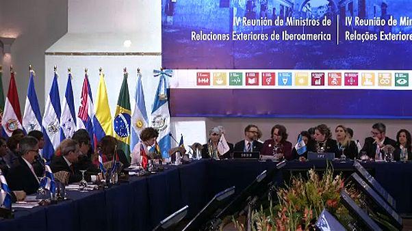 La crisis migratoria se cuela en la Cumbre Iberoamericana