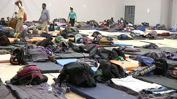 Les migrants centraméricains affluent à Tijuana