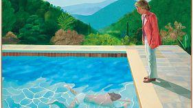 """80 Millionen Euro für ein Gemälde - David Hockney """"teuerster lebender Künstler"""""""