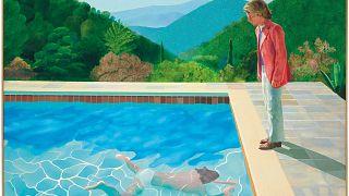 Pintura de David Hockney bate recorde em leilão