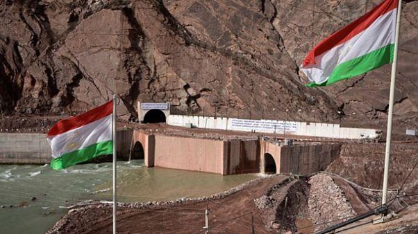 سد راغون در تاجیکستان (عکس از خبرگزاری فارس)