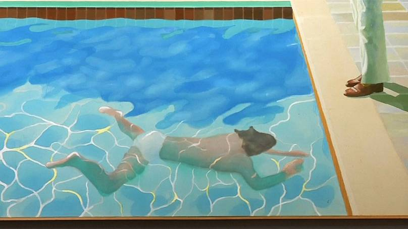 David Hockney bricht mit Pool-Bild Preisrekord