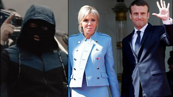 Macron'dan Fransız rapçiye 'Cougar Gang' şarkısı nedeniyle 'sansür' iddiası