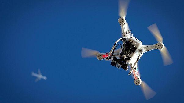 Drone uçağa 20 metre kadar yaklaştı