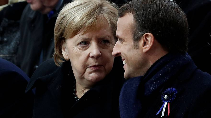 Volkstrauertag: Macron hält Rede im Bundestag
