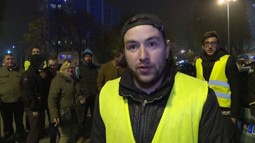 """¿Conseguirán los """"chalecos amarillos"""" bloquear Francia este sábado?"""