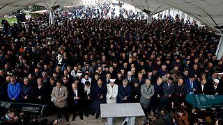 Simbólico funeral de Jamal Khashoggi en Estambul