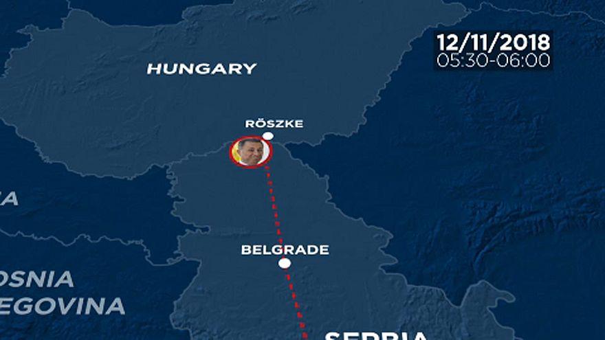 Így menekült Gruevszki Magyarországig