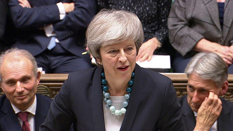 ماي تتعهد بإتمام الانسحاب من الاتحاد الأوروبي بعد فوزها باقتراع على الثقة
