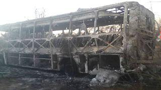 انفجار اتوبوسی در زیمبابوه بیش از ۴۰ کشته برجای گذاشت