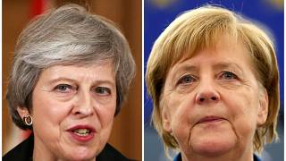 Theresa May e Angela Merkel