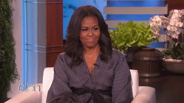 السيدة الاميركية الاولى السابقة ميشال أوباما