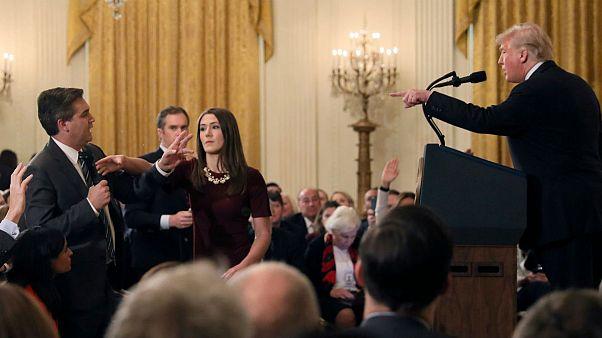 دادگاه فدرال آمریکا: مجوز ورود جیم اکوستا به کاخ سفید موقتا بازگردانده شود
