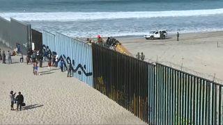 La caravane de migrants arrive à la frontière américaine