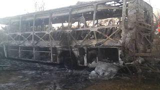 Zimbabve'de yolcu otobüsünde facia: En az 42 kişi yanarak öldü