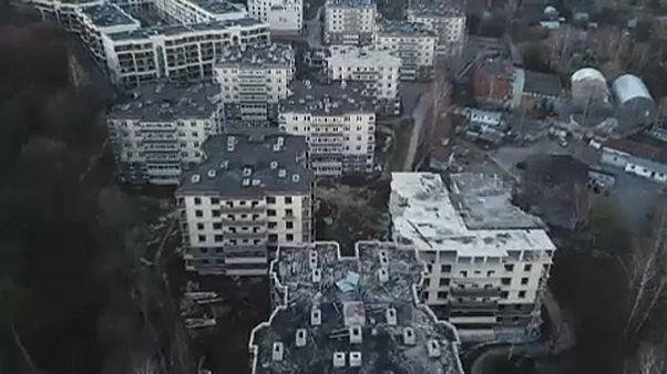 """كاميرا """"يورونيوز"""" تسجّل صوراً مؤلمة لأزمة السكن في روسيا"""