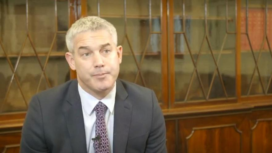 UK Brexit Secretary Stephen Barclay