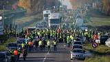 Protester killed in car accident at road blockade in France