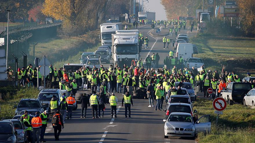 Image result for France fuel protests