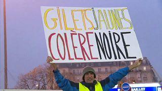 Muere una manifestante en la protesta de los 'chalecos amarillos' en Francia