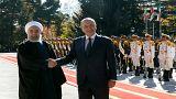 الرئيس الإيراني: حجم التجارة مع العراق يمكن أن يرتفع إلى 20 مليار دولار سنويا