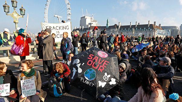 Londra: Rebellion Day contro il cambiamento climatico