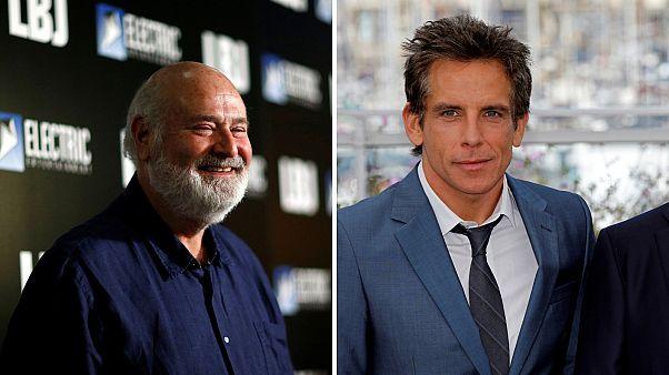 Princess Bride director (L) and actor Ben Stiller (R)