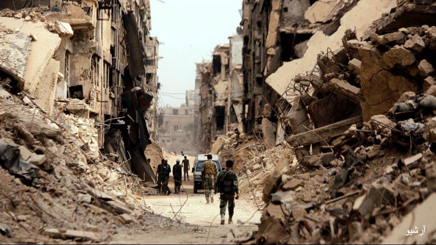 اردوگاه پناهجویان یرموک، دمشق، سوریه