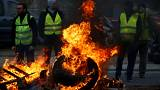 One dead and over 200 injured in fuel protests across France
