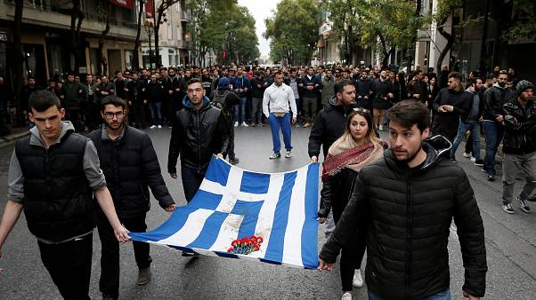 45 aniversario de la revuelta de la Universidad Politécnica de Atenas