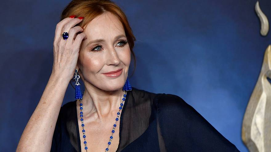 Writer J.K. Rowling attends the British premiere of 'Fantastic Beasts.'