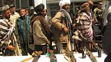 تلاش آمریکا برای صلح میان دولت افغانستان و طالبان تا پایان فروردین