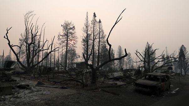 حرائق كاليفورنيا: البحث عن المفقودين بسبب الحرائق مستمر