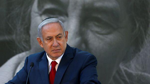 بنیامین نتانیاهو، نخست وزیر اسرائیل در مراسم بزرگداشت گلدا مایر