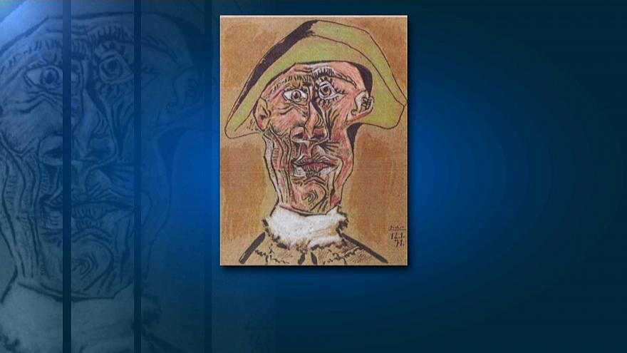 """""""Tête d'Arlequin"""" von Picasso"""