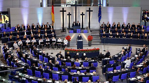 ماکرون در پارلمان آلمان