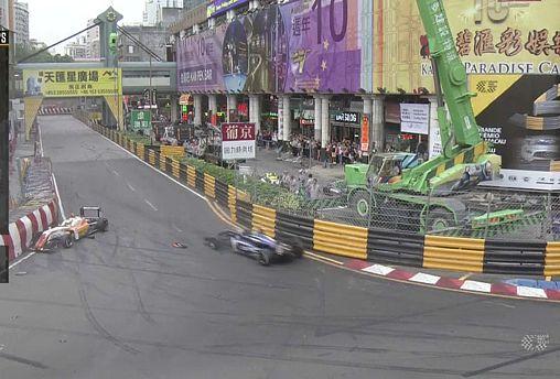 German F3 driver Sophia Floersch injures spine in crash