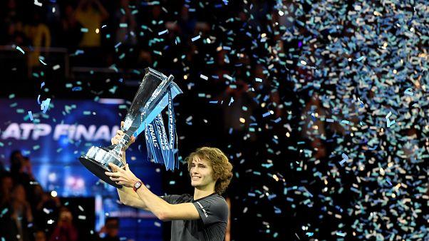 Wahnsinn: Alexander Zverev (21) gewinnt ATP Finale von London