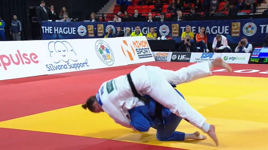 Clash of the titans on thrilling last day of The Hague Judo Grand Prix