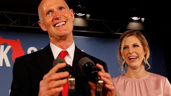 Florida'da seçim sonuçları değişti: Yarışın galibi Cumhuriyetçi Rick Scott