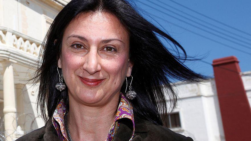 Identificados autores morais da morte de jornalista maltesa