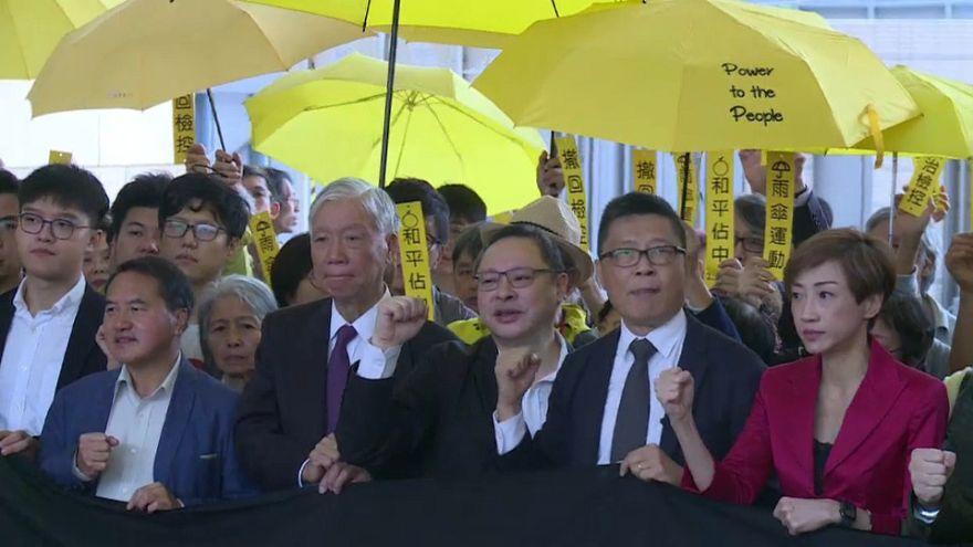 Hongkong: Prozess gegen Anführer der Demokratie-Proteste beginnt