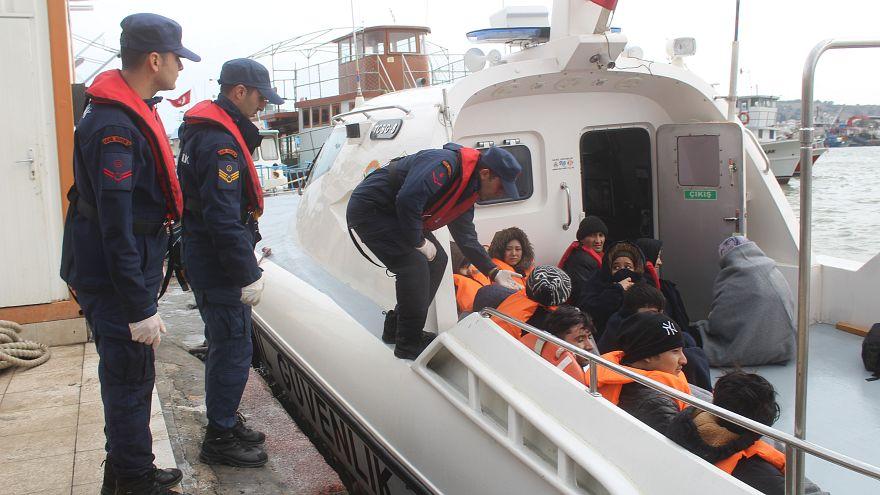 Ege'de Sahil Güvenlik 44 sığınmacıyı kurtardı