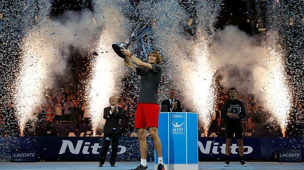 ازورف آلمانی با شکست جوکوویچ جوانترین فاتح رقابتهای تنیس مسترز لندن شد